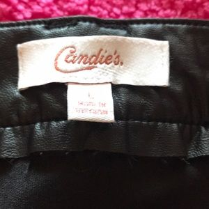 Candie's Skirts - Candies large pleather skirt.